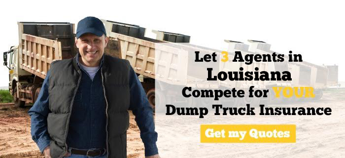 Louisiana Dump Truck Insurance Quotes