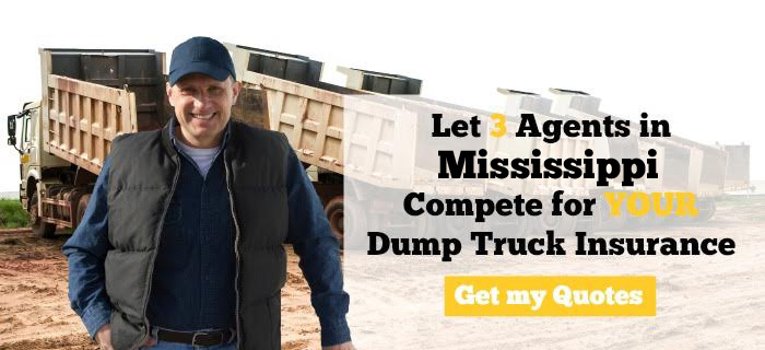 Mississippi Dump Truck Insurance Quotes