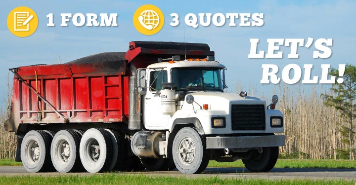 Compare 3 Dump Truck Insurance Agents