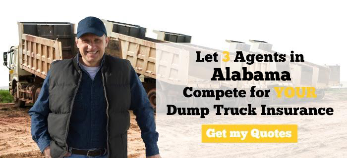 Alabama Dump Truck Insurance Quotes