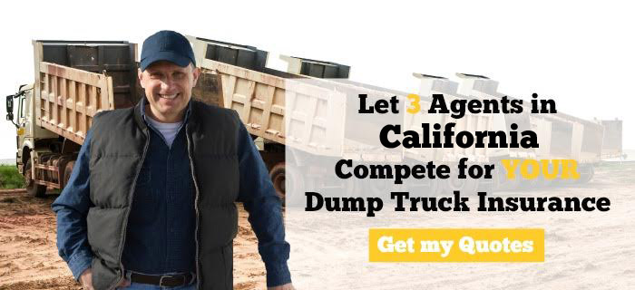 California Dump Truck Insurance Quotes