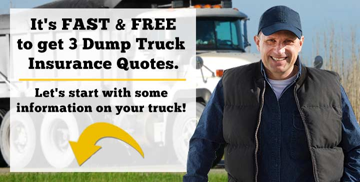 3 Dump Truck Insurance Quotes