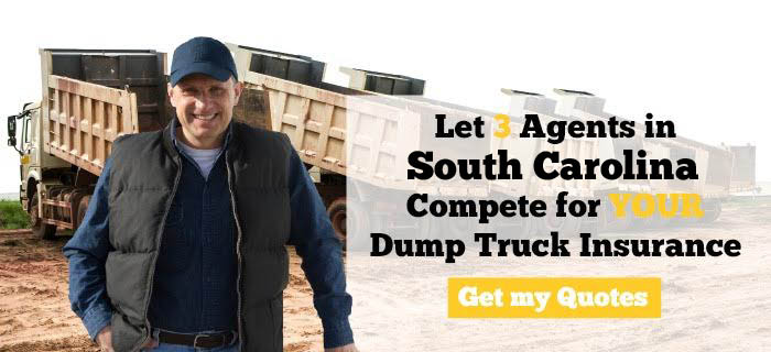 South Carolina Dump Truck Insurance Quotes