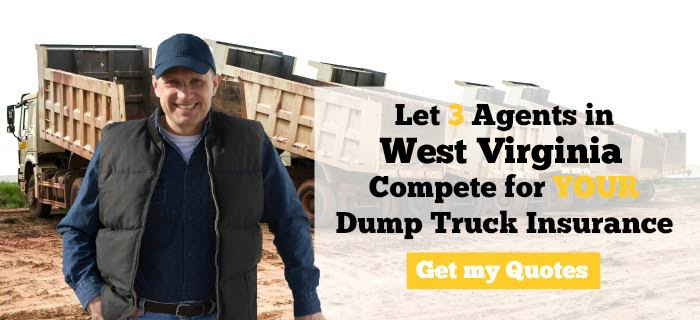 West Virginia Dump Truck Insurance Quotes